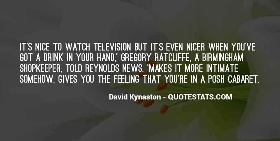 David Kynaston Quotes #1391703