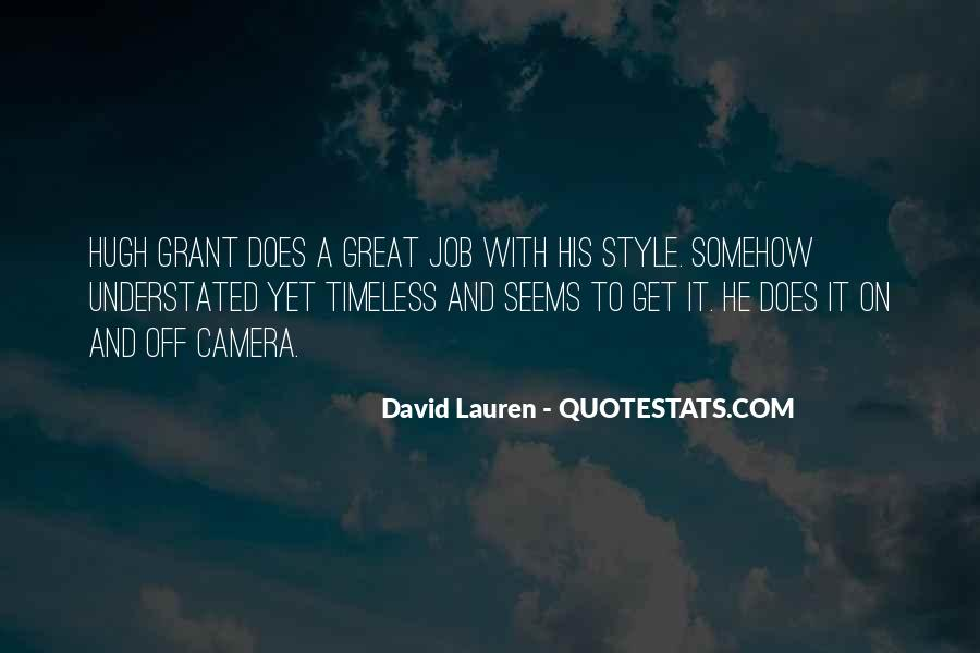 David Lauren Quotes #507650