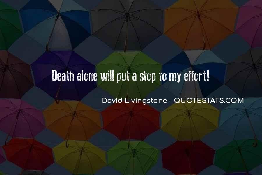 David Livingstone Quotes #122972