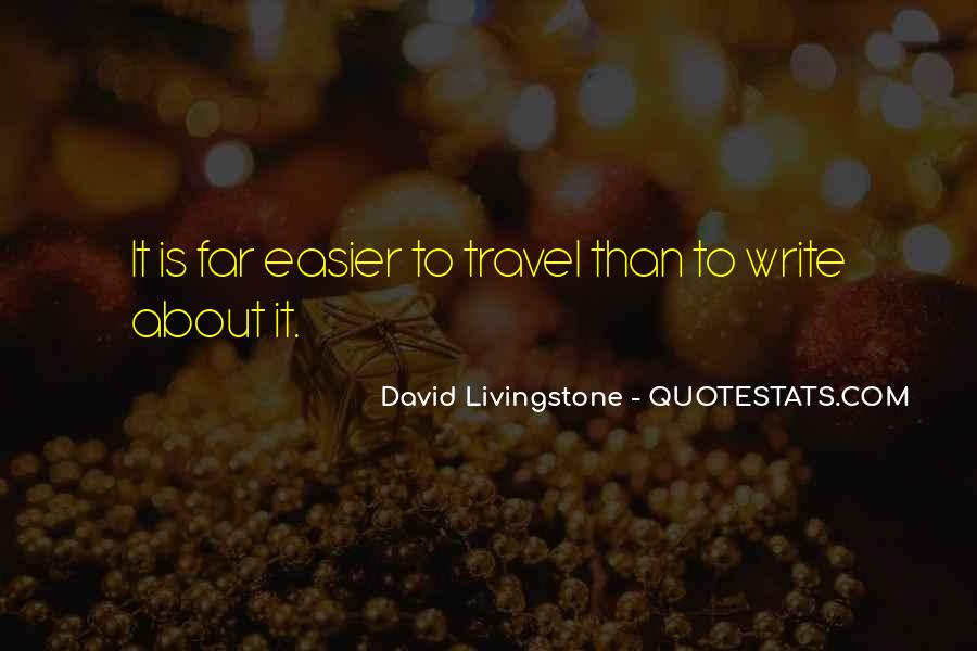 David Livingstone Quotes #239477