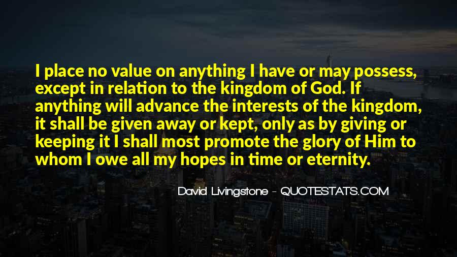 David Livingstone Quotes #345259