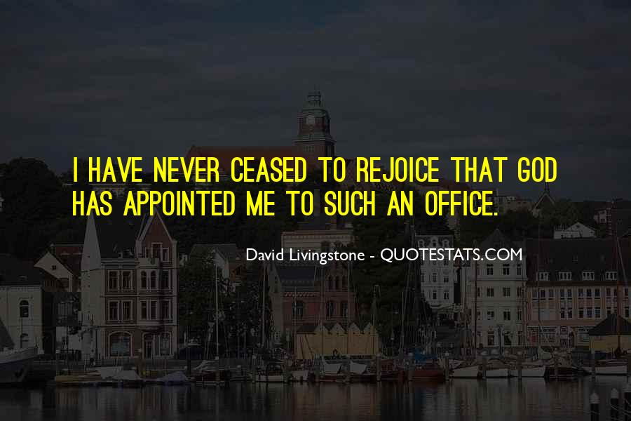 David Livingstone Quotes #395691