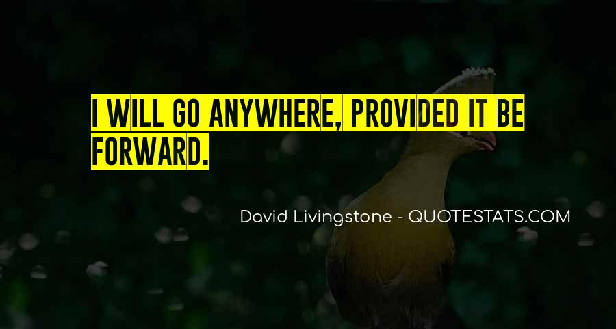 David Livingstone Quotes #774923