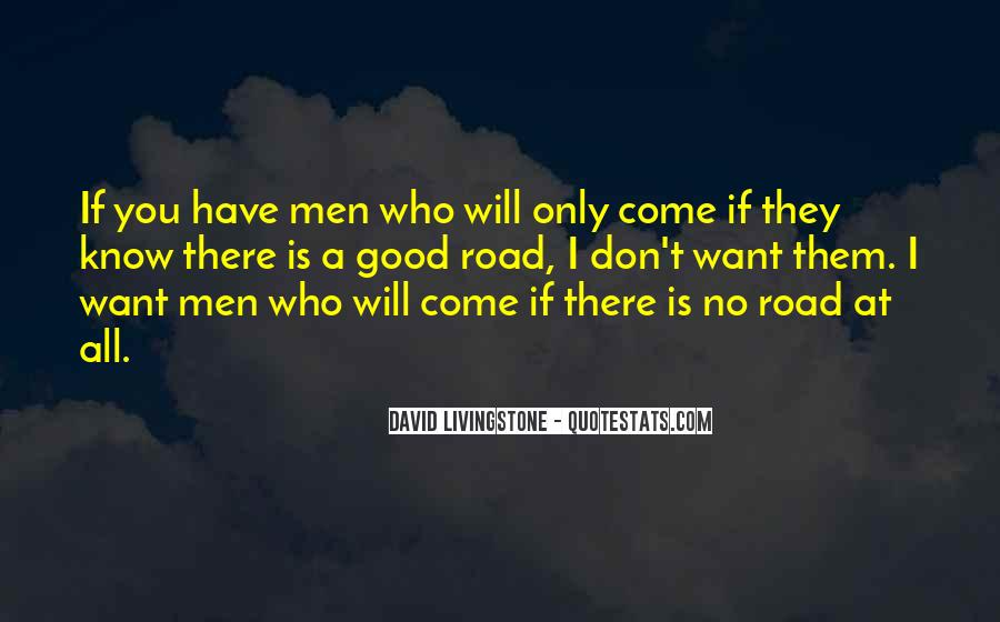 David Livingstone Quotes #831813