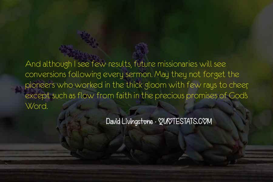 David Livingstone Quotes #83731