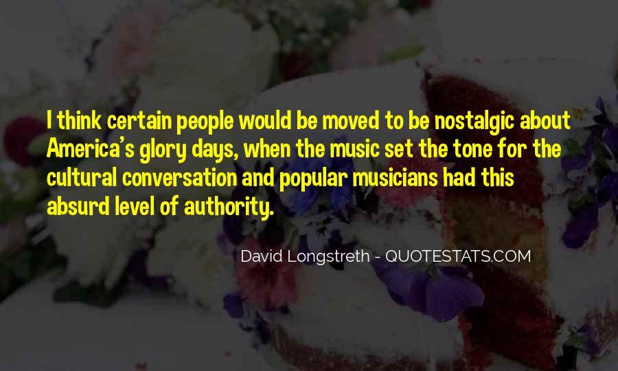 David Longstreth Quotes #1047099
