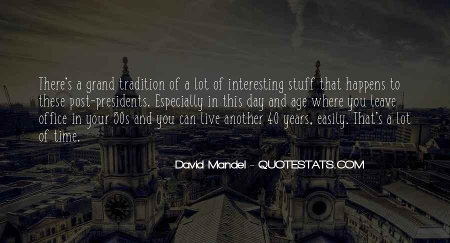 David Mandel Quotes #1070709