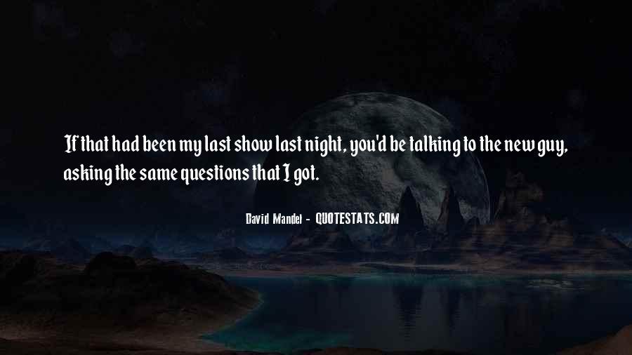 David Mandel Quotes #1386253