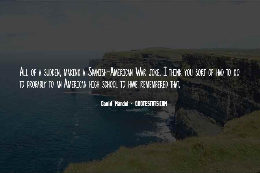 David Mandel Quotes #1416009