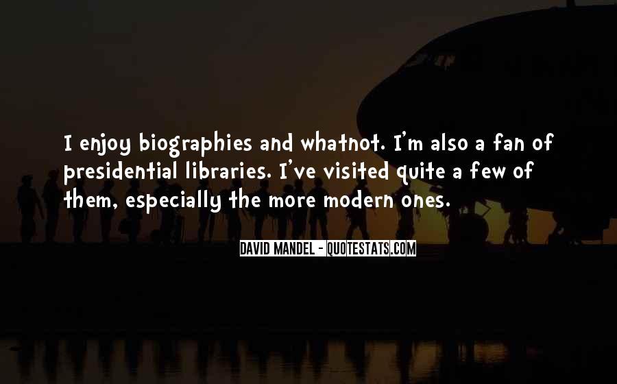 David Mandel Quotes #1758089