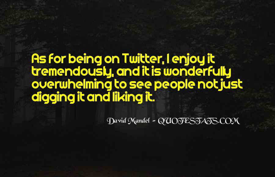 David Mandel Quotes #1855150