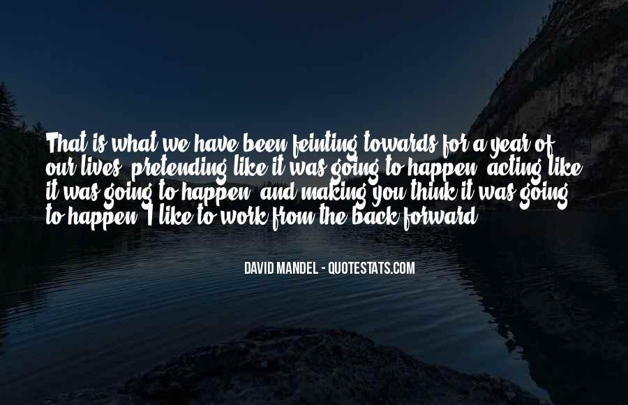 David Mandel Quotes #24007