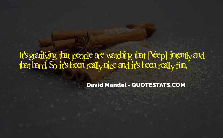 David Mandel Quotes #994644
