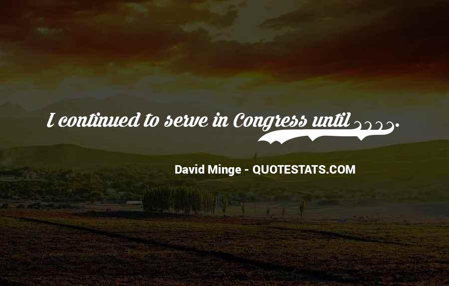 David Minge Quotes #152137