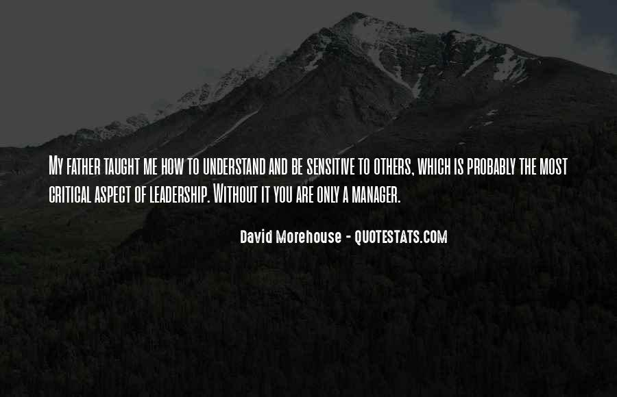 David Morehouse Quotes #1133431