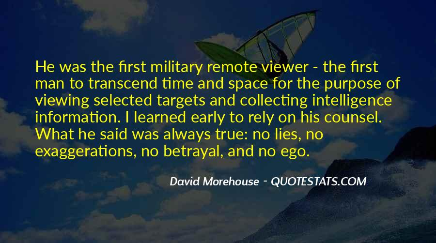 David Morehouse Quotes #827200