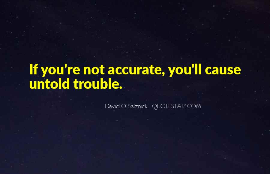 David O. Selznick Quotes #1120781