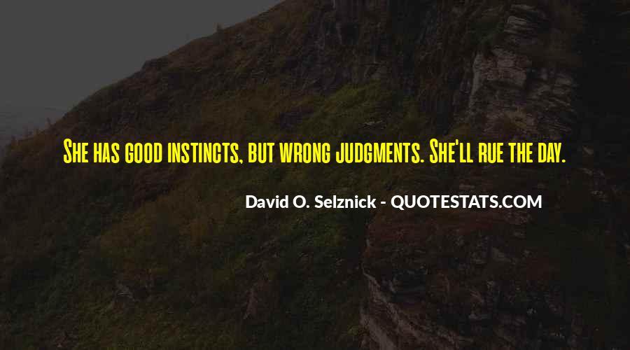 David O. Selznick Quotes #119653