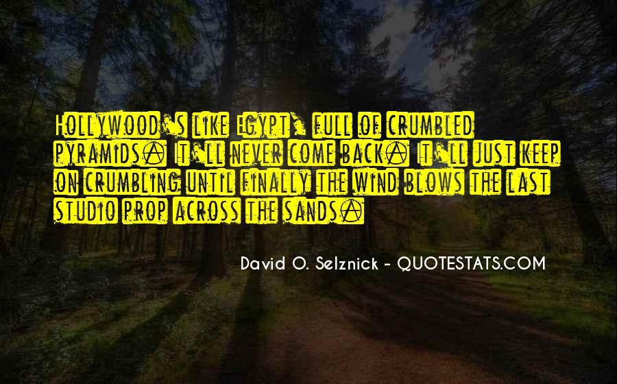 David O. Selznick Quotes #1462375