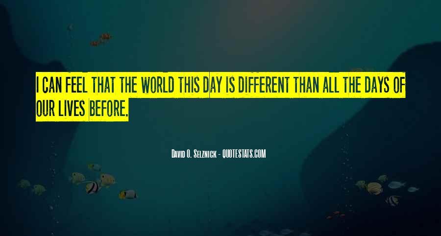 David O. Selznick Quotes #1534507