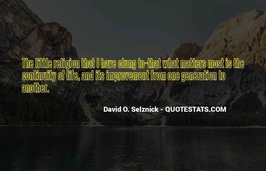 David O. Selznick Quotes #1839257