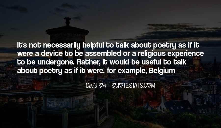 David Orr Quotes #1445706
