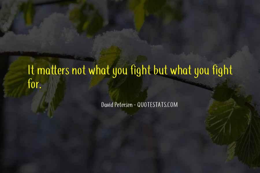 David Petersen Quotes #1136547