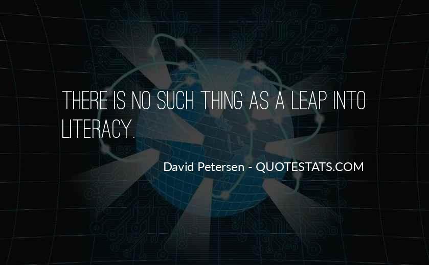 David Petersen Quotes #1598346