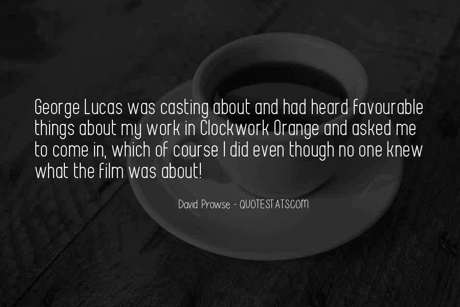 David Prowse Quotes #1050225