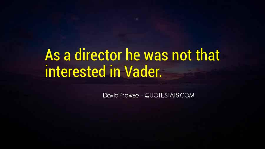 David Prowse Quotes #1651058