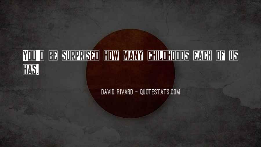 David Rivard Quotes #203038