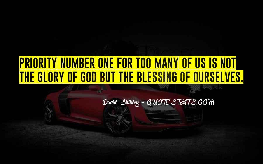 David Shibley Quotes #1215823