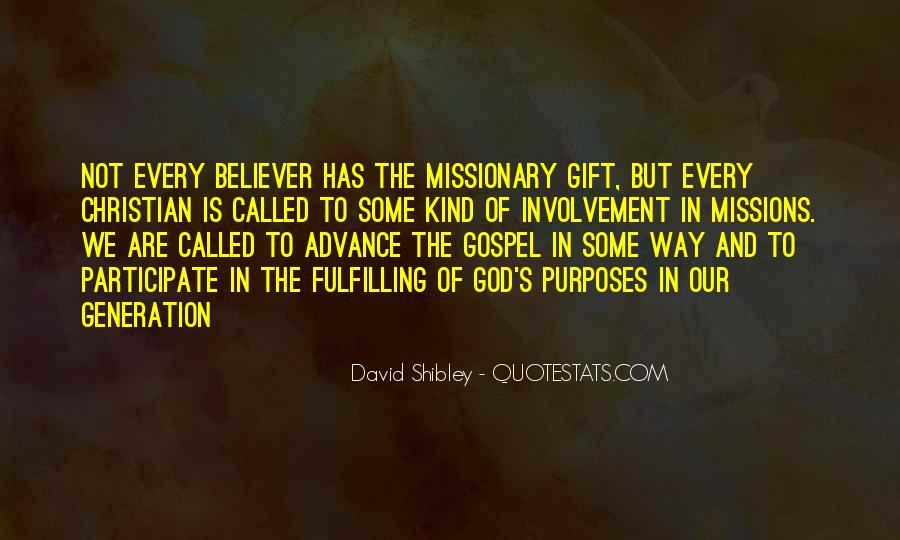 David Shibley Quotes #1723409