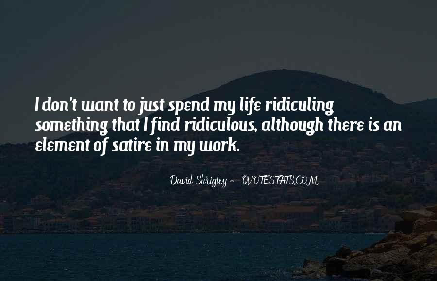 David Shrigley Quotes #559873