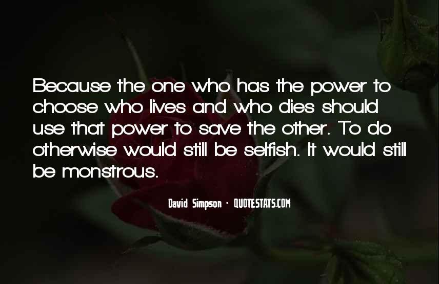 David Simpson Quotes #475075