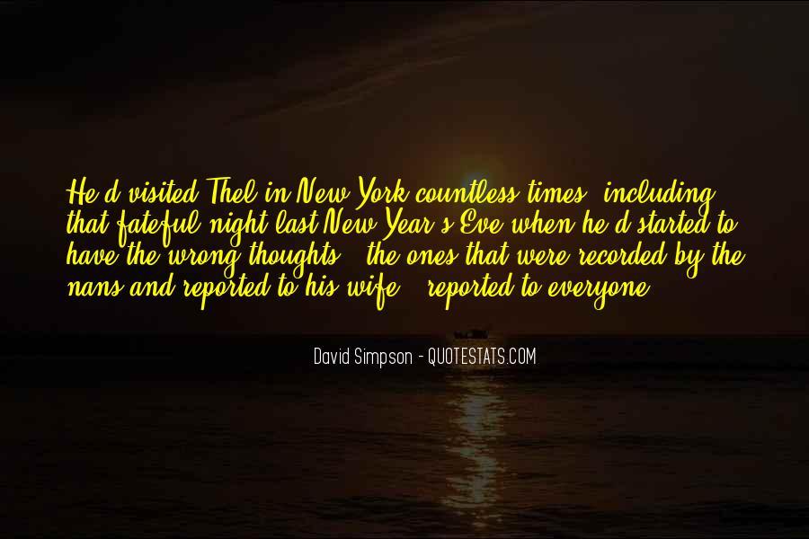 David Simpson Quotes #885310