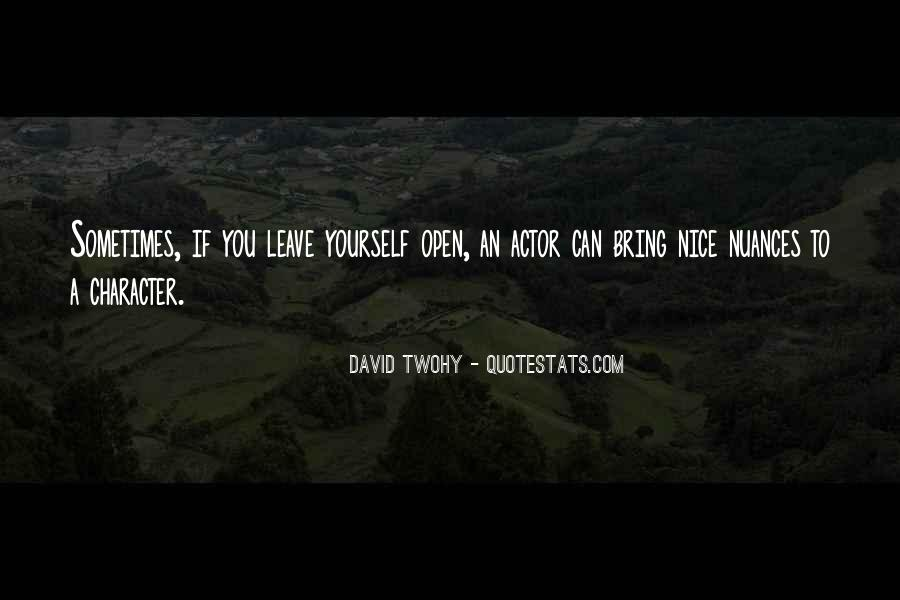 David Twohy Quotes #181047