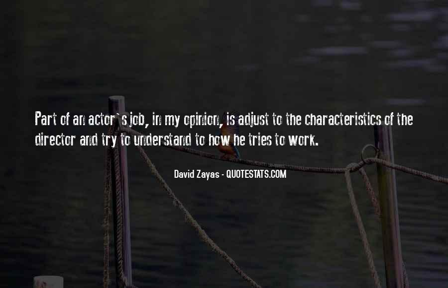 David Zayas Quotes #1573654