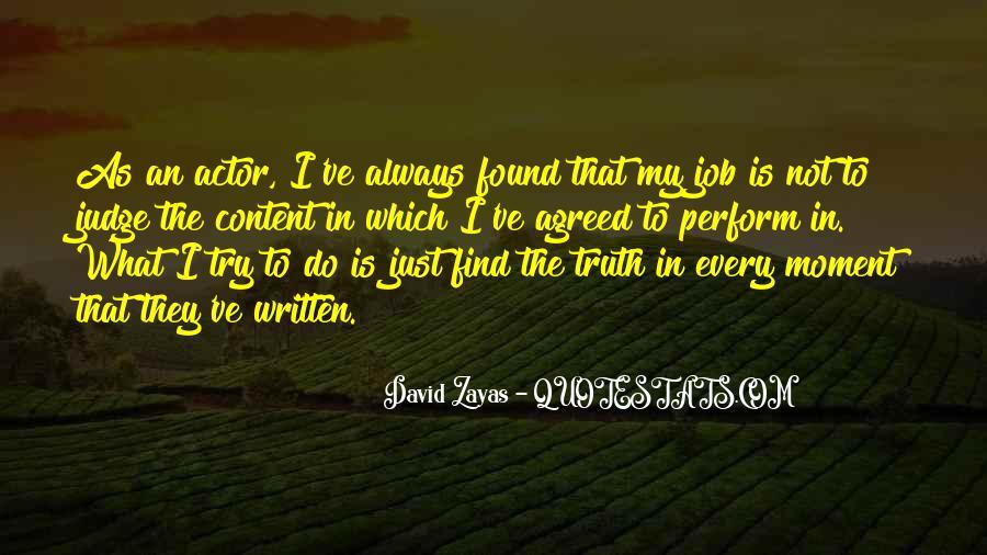 David Zayas Quotes #297159
