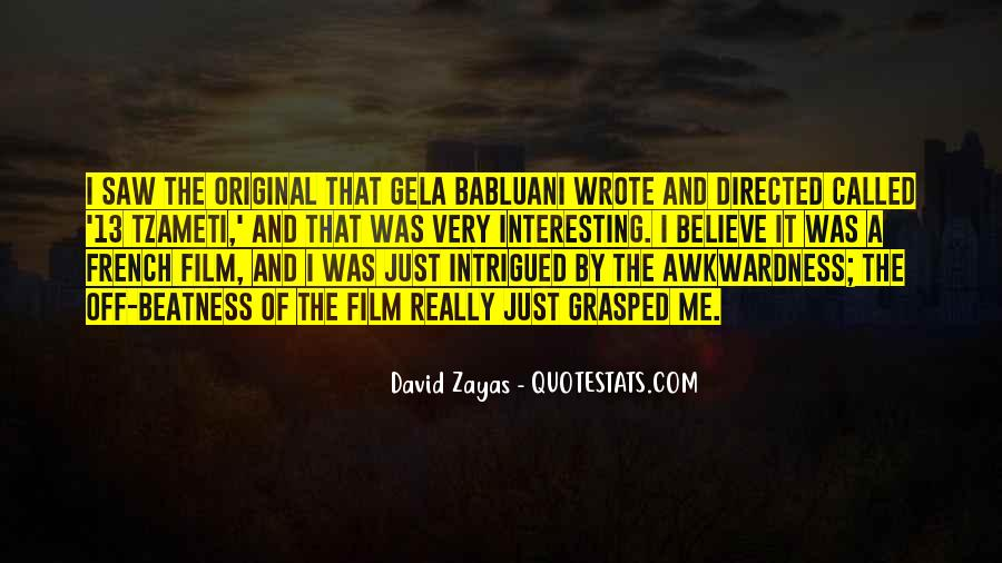 David Zayas Quotes #535345