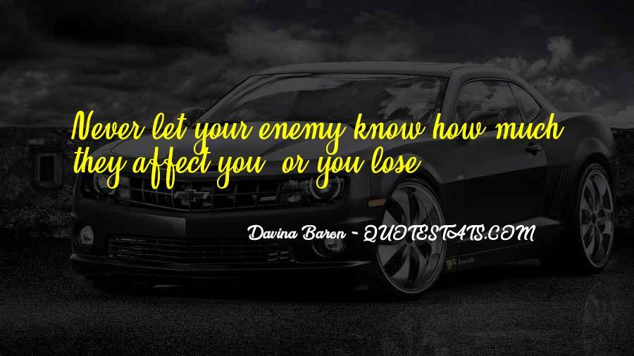 Davina Baron Quotes #1048266