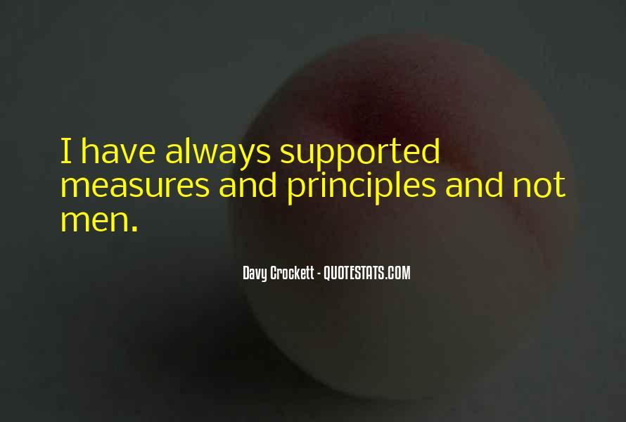 Davy Crockett Quotes #1073307
