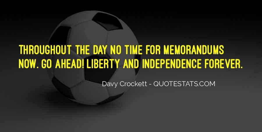 Davy Crockett Quotes #1372679