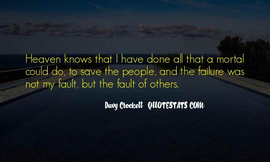 Davy Crockett Quotes #1401337