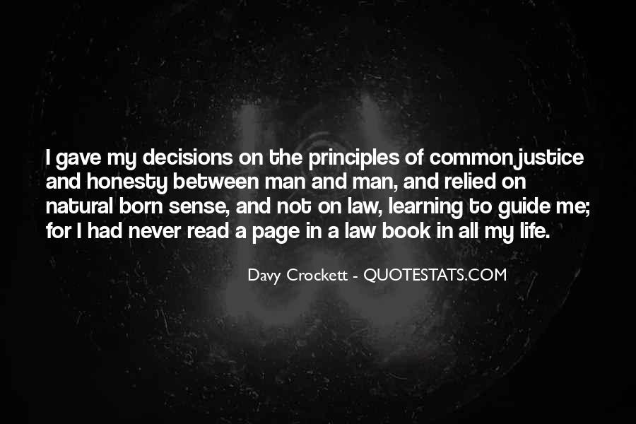 Davy Crockett Quotes #1405986