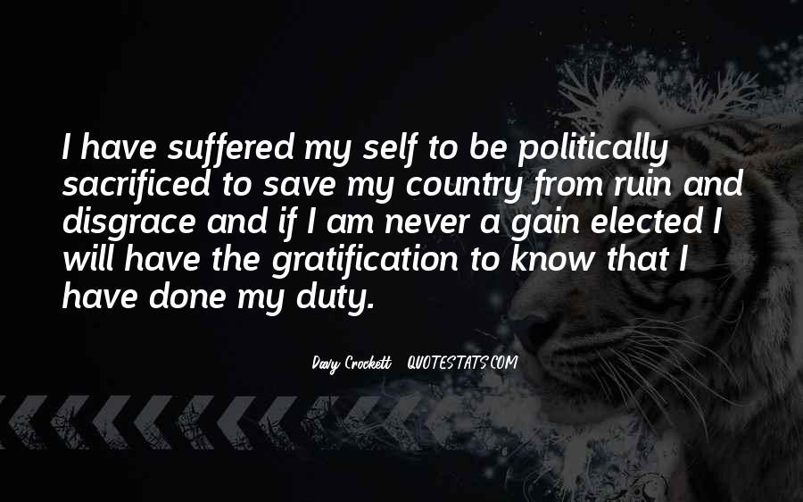 Davy Crockett Quotes #1711450