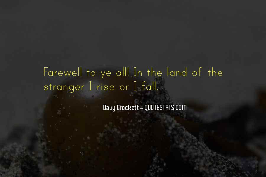 Davy Crockett Quotes #1860849
