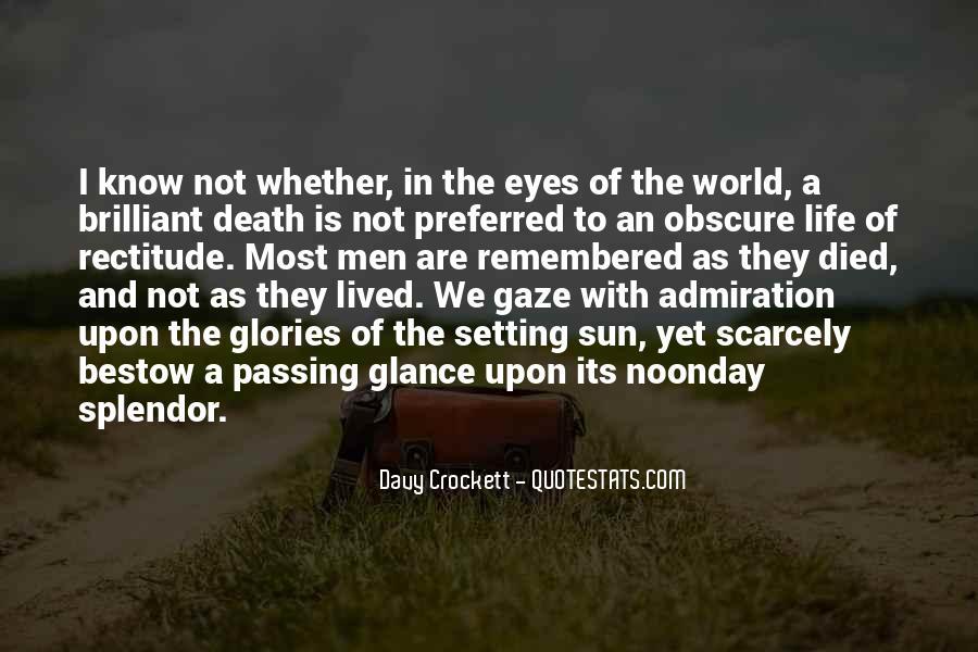 Davy Crockett Quotes #1877960