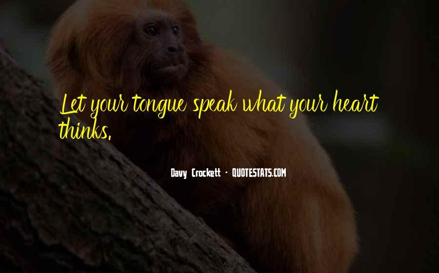Davy Crockett Quotes #239571
