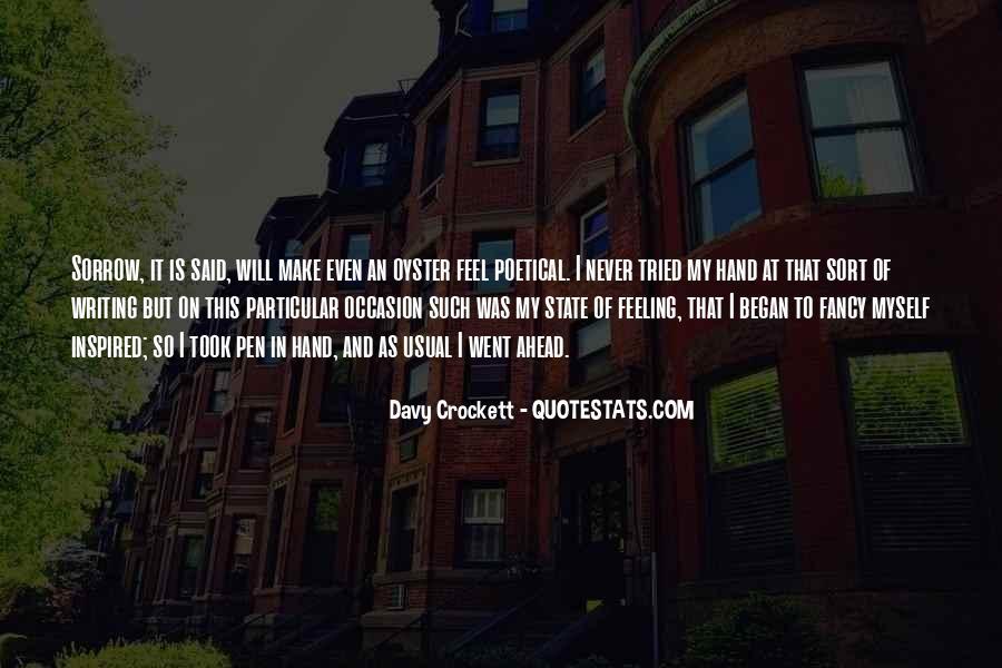 Davy Crockett Quotes #294866